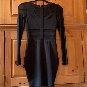 Material Girl formal black dress!